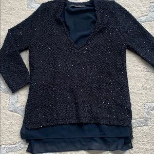 Zara sequence sweater
